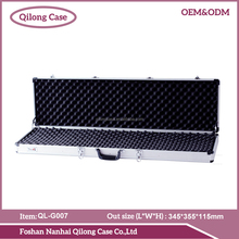 ABS sheet /PVC Leather/ aluminum board black gun case
