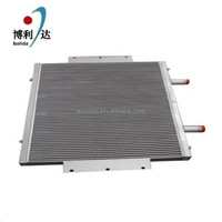 Manufacturer customized made aluminum brazed plate oil heat exchanger