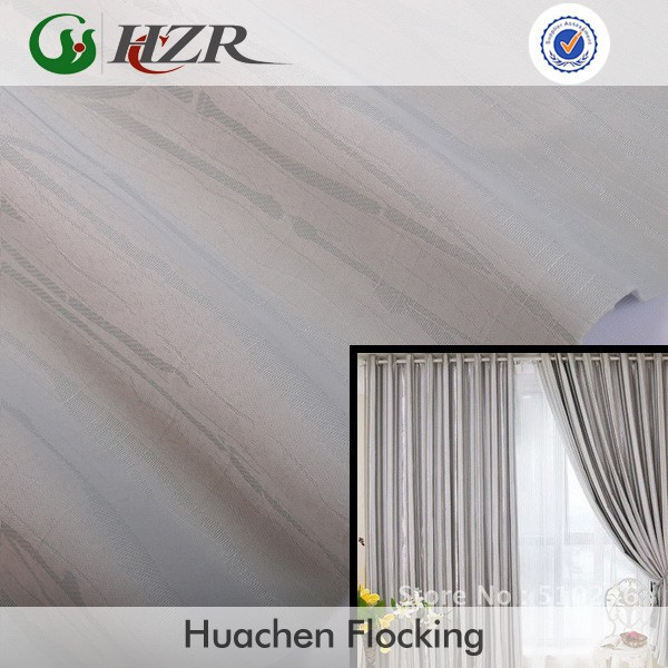 100 polyster slubbed plain jacquard bamboo face blackout door curtain fabric