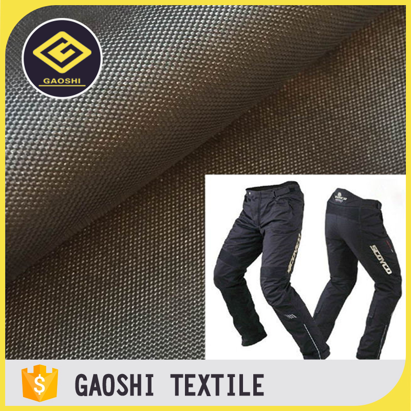 China Made 100% Polyester 600D/900D PU Coated Oxford Fabric for Motorcycle Racing Pants