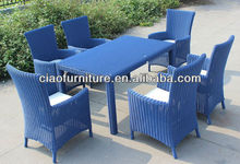 2013 new household elegant Rattan dining room table set