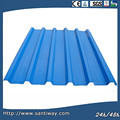 2014 hot selling CE & ISO steel roof sheet PPGI metal roof tile SANTIWAY-054