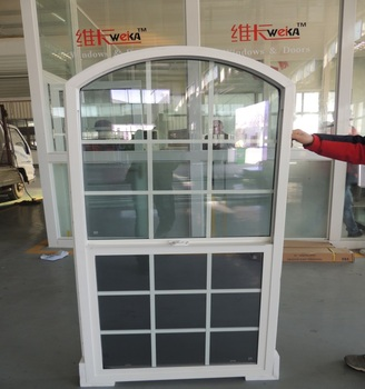 Anhui manufacture new design arched windows
