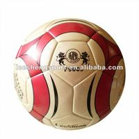 provide 5# double mirror yellow PU laminted football