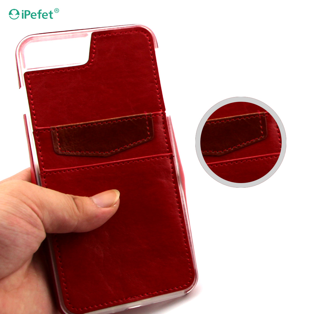 Leather Smart Phone Case Cover Case for iPhone 7 with card holder
