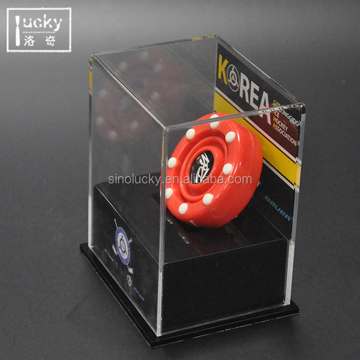 Clear Acrylic Ball Display Case for display sports products