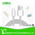 Metal Spring USB Cable For iPhone for Samsung 1M Fast Charging Cable