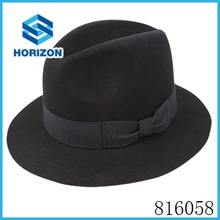 fedora hat man jazz cap hat for man with bowknot decoration