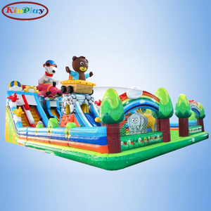 KINPLAY brand custom outdoor slide with new design most favorite pvc inflatable slide