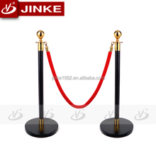 Manufactory Wholesale Promotion Stanchion Total Height 980mm Rope Dia 32mm Alibaba China Safety Barrier Cafe Wind Barrier