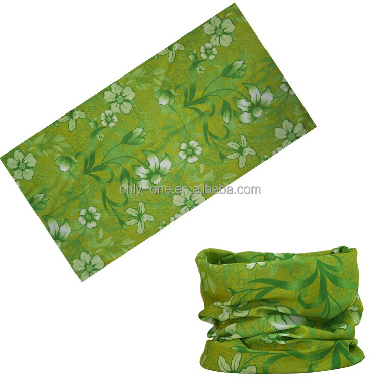 Promotional Most Popular Cheap Ladies Custom Printed Microfiber Polyester Paisley Tube Scarf