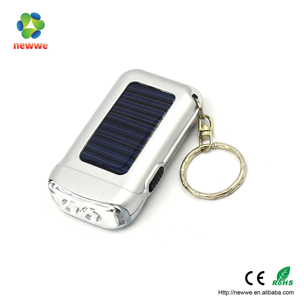 Camping Rechargeable Flashlight Portable keychain Led Torch Light Price Solar Torch
