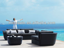 MS-124 PE Rattan New Design modern moroccan sofa
