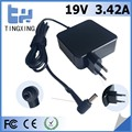 Europe plug High quality factory rohs ac laptop adapter Tingxing brand for asus 19V3.42A65W Notebook charger 5.5*2.5MM