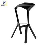 Replica Konstantin Grcic Miura Stackable Plastic Chair Bar Stool