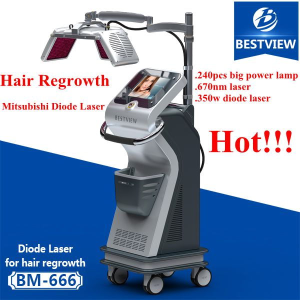 Bestview Laser Fast Hair regrowth /Vertical laser hair regrowth machine