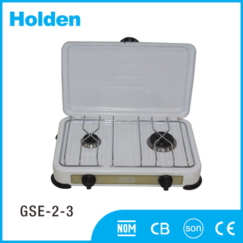 GSE-2-3 new brand 2 burner table top portable mini gas stove