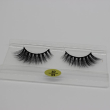 Wholesale mink eyelash private label 3d faux mink lashes