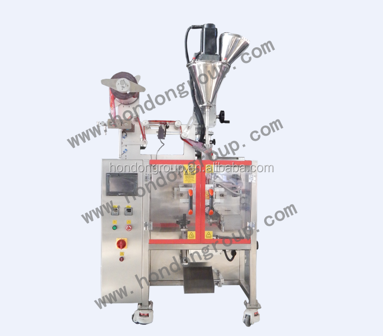 automatic super coffee powder packing machine with servo motors (Model DXDF-40VI)
