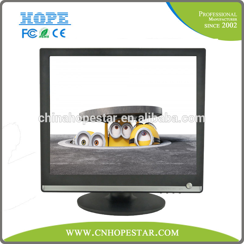 "The best quality OEM VGA AV TV 17 inch tft lcd monitor 17"" lcd computer monitor"