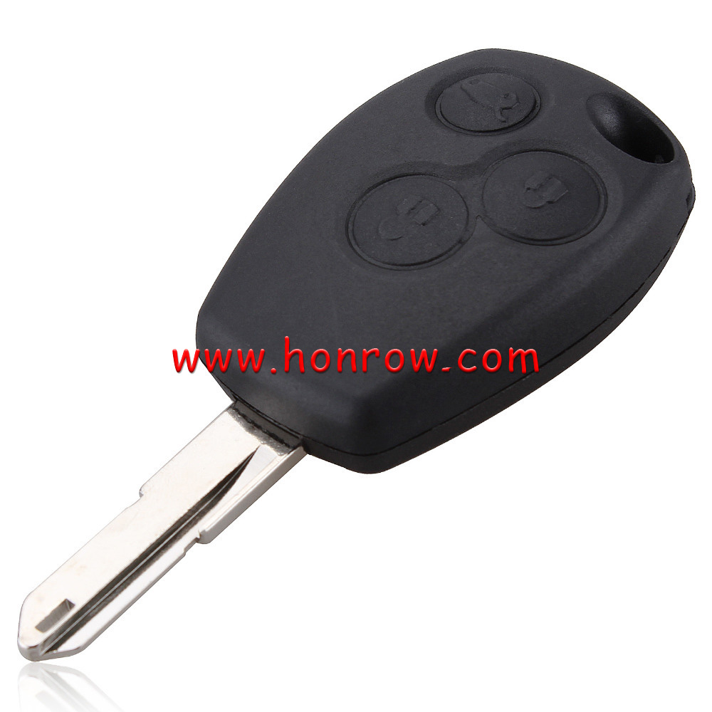 High quality Renault 3 button remote blank key fobs (No Logo)