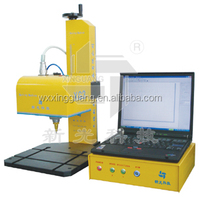 XG3-A label marking machine on aluminum , steel , brass metal tag