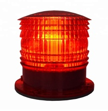 3NM Visibility 100% Waterproof Solar LED Beacon signal Warning Light