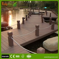 UV resistant Water proof exterior use hardwood flooring for garden backyard designs