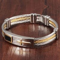 TRYME Casual Full Steel Man Bangles