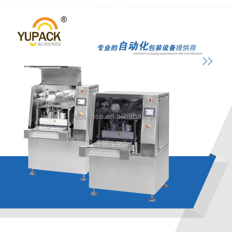 YUPACK Automatic tray vacuum packing machine ,tray sealing machine