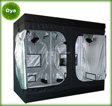 240x240x200cm high quality portable horticultural hydroponic grow box mylar indoor grow tent