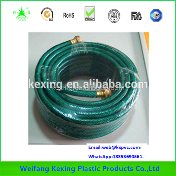 2016 Best Selling Clear Garden Hose With Lines