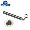 Silver Promitional LED Keychain Flashlight XPE R3 LED Small Keyring Torch for Gifts