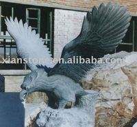 Black eagle carvings