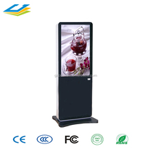 photo booth kiosk 65 inch vertical lcd panel stand advertising display LCD Advertising display