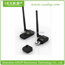 Best Seller 300Mbps high definition tv Mini usb adapter with 6dbi external antenna EP-MS8512