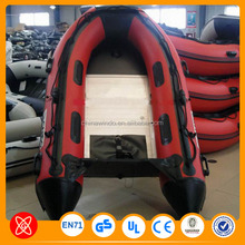 Double drifting boat inflatable fishing boat with durable high quality PVC material