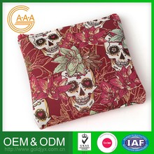 High Quality Cheap Price Skull Printing 3D Silicone Bag For Woman