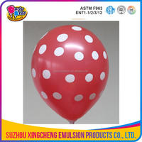 Printing balloon with logo