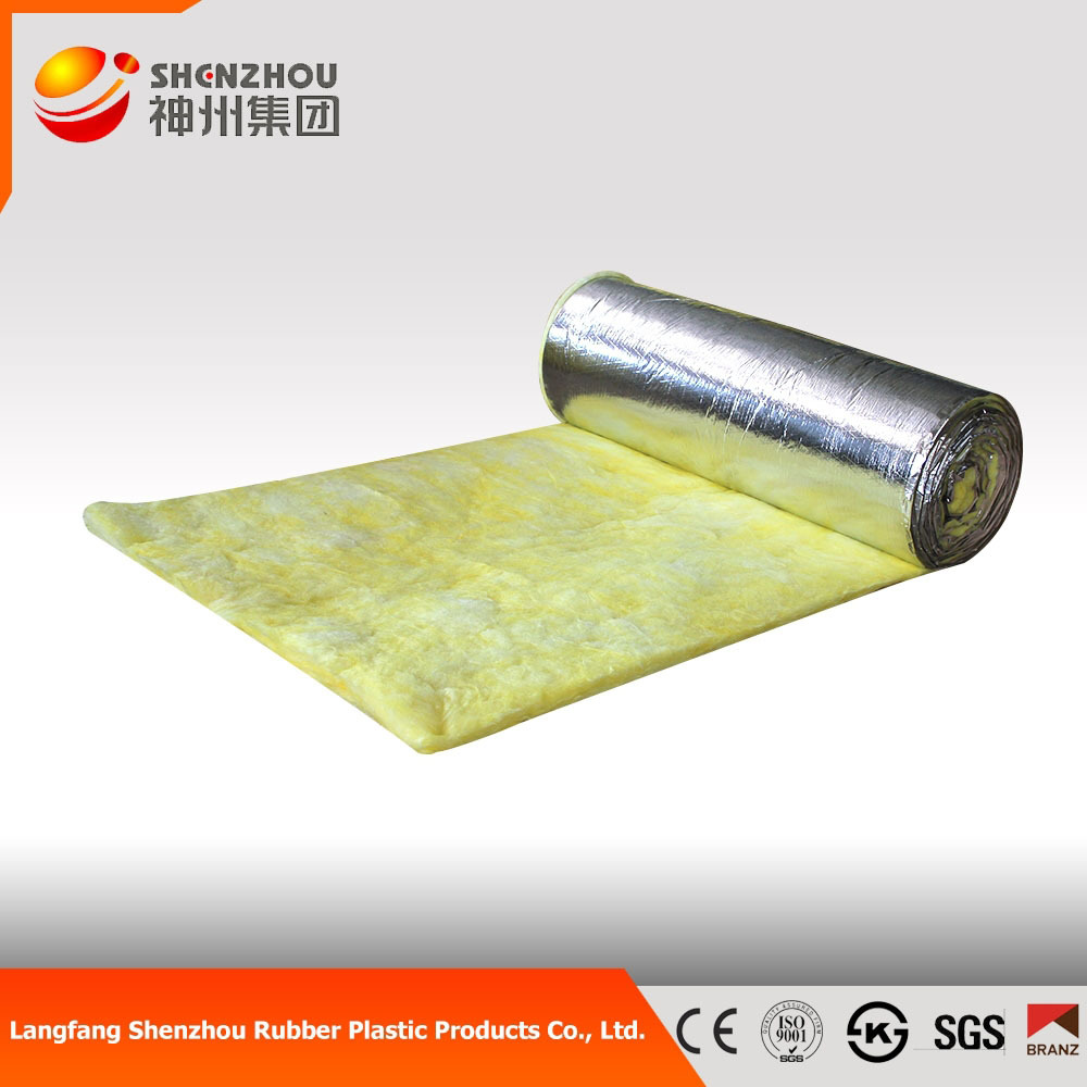 Waterproof fiberglass wool batts 10 48kg m3 density for Fiberglass insulation density