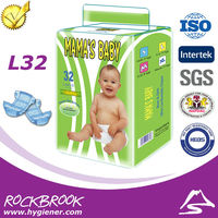 Good Price Disposable Breathable Double Gusset Pocket Diaper Nappy Manufacturer from China