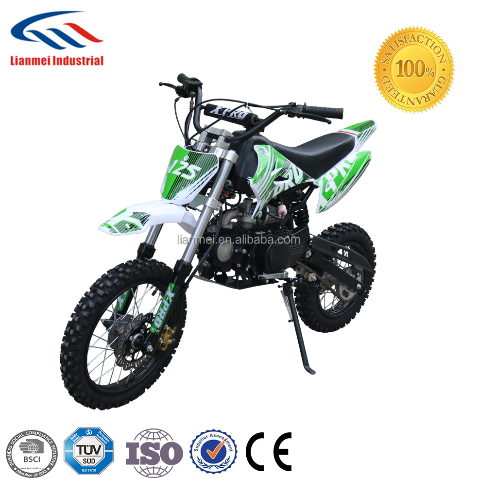 Petrol dirt bike for sale cheap, 125cc off road motorcycle