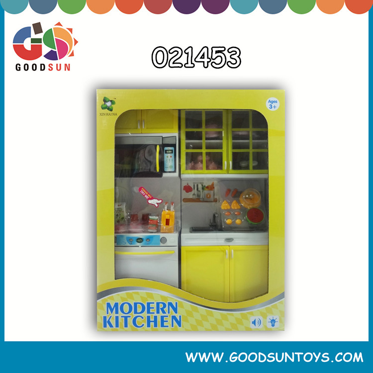 2015 nursery doll house kids plastic play kitchen