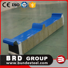 thermal insulation soundproof rock wool roof panel with two sides sealed