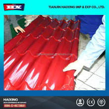 color zinc coating galvanized corrugated metal roofing sheet