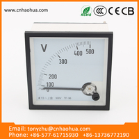 wholesale products china Analog panel meter voltmeter volt voltage meter