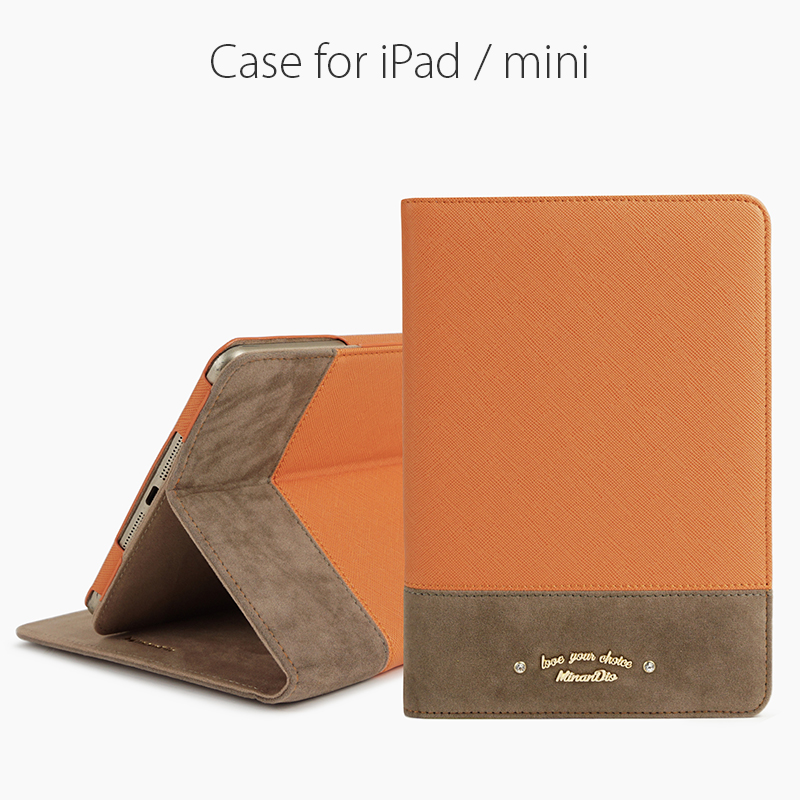 Good quality pu leather hard PC back case for iPad air PU leather case Smart cover for iPad 5