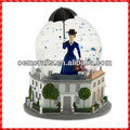 Hot Selling Exquisite Pretty Lady Theme Resin Customized Snow Ball