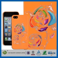 New Crystal Transparent for iphone 5 solar case