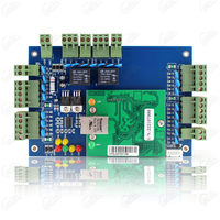 tcp/ip 2 door access control wiegand board system